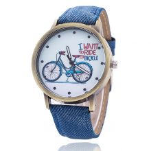 Vintage Jeans Strap Watches