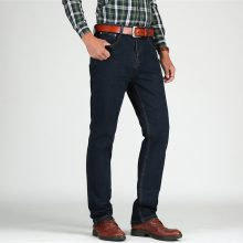Men's High Waisted Thick Classic Jeans